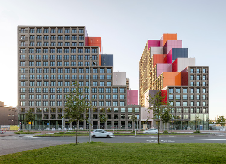 OurDomain 阿姆斯特丹学生公寓 / OZ Architects, © Marcel van der Burg
