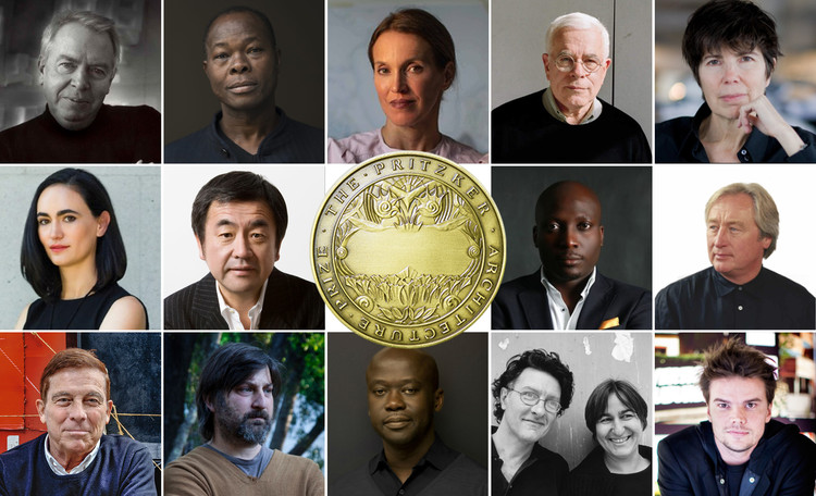 ArchDaily 读者投票结果: 谁会赢今年普利兹克奖?, Some of the potential winners of Pritzker Prize 2021, according to our readers. Image