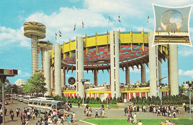 世博会真的一去不复返了吗?, 1964 World's Fair held in New York City. Image Courtesy of Abandoned NYC